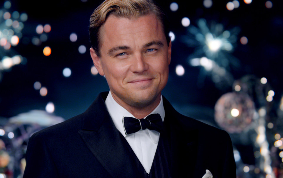 Photo - This film publicity image released by Warner Bros. Pictures shows Leonardo DiCaprio as Jay Gatsby in a scene from
