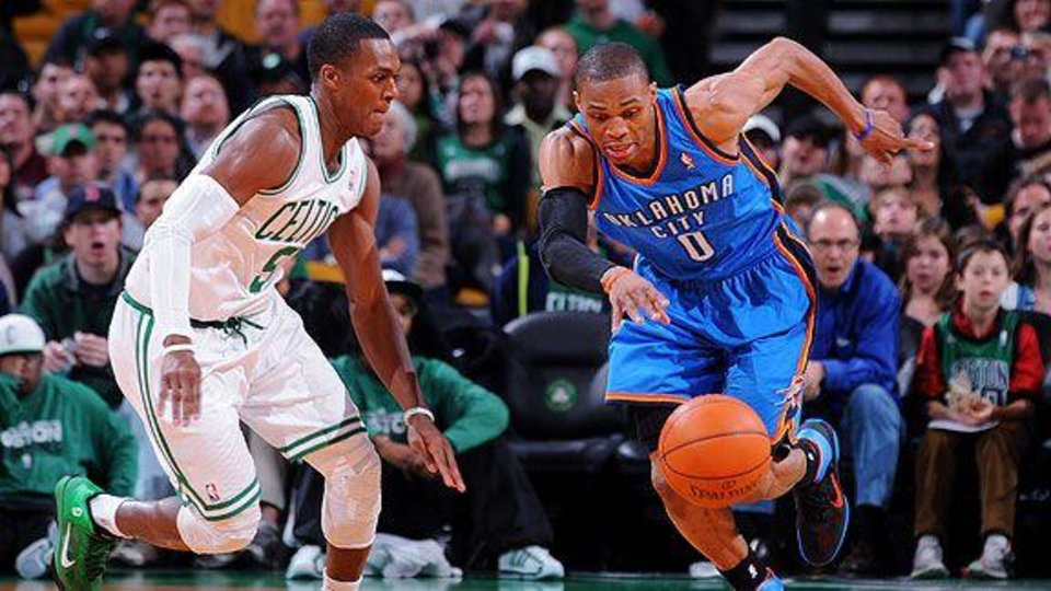 Under league rules, there is no way a reported trade offer that would have had Rusell Westbrook and Rajon Rondo swap uniforms would have even legally been permitted.