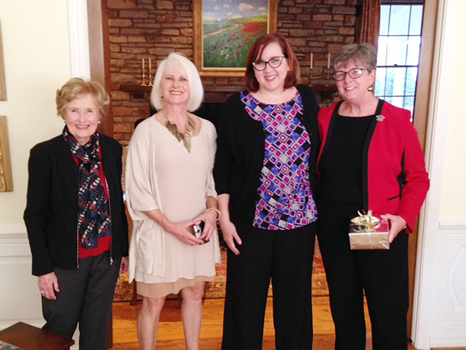 Photo - Barbara Thompson, Dr. Cathleen Skinner, Jennifer Bartkoski, Desa Dawson. PHOTO PROVIDED