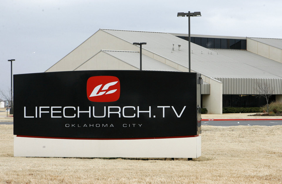 LifeChurch's sign is seen at 2001 NW 178. PHOTO BY PAUL HELLSTERN, THE OKLAHOMAN <strong>PAUL HELLSTERN</strong>