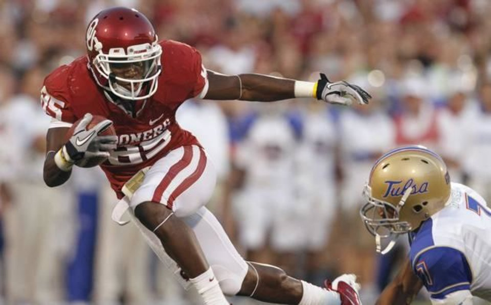 OU is scheduled to face Tulsa among its nonconference foes. / Photo by Steve Sisney