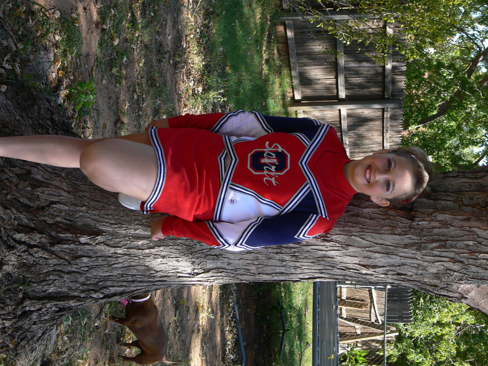 Kaitlin,ready for Frontier City. Cheering for MWC Spirit of Oklahoma Community Photo By: Jeff Graybill Submitted By: Jeff, Midwest city