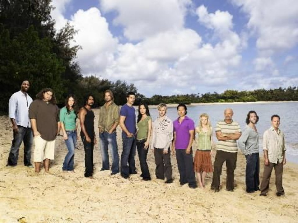 "Cast of ""Lost"" - AP Photo"