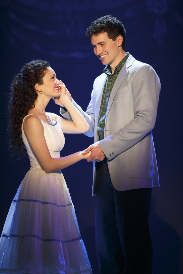 MaryJoanna Grisso as Maria and Addison Reid Coe as Tony   Photo by Carol Rosegg <strong>Photo by Carol Rosegg</strong>