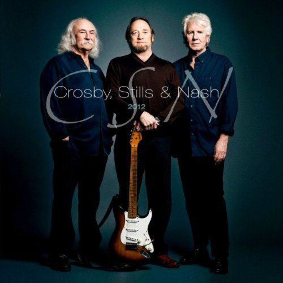 Photo - Crpsby, Stills and Nash will be in concert Sunday at Oklahoma City's Zoo Amphitheatre. Photo provided