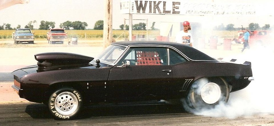 Scott Hirzel's Camaro at Mid America Dragway, Ark City, KS.<br/><b>Community Photo By:</b> Martin Blaney<br/><b>Submitted By:</b> jimmy, guthrie