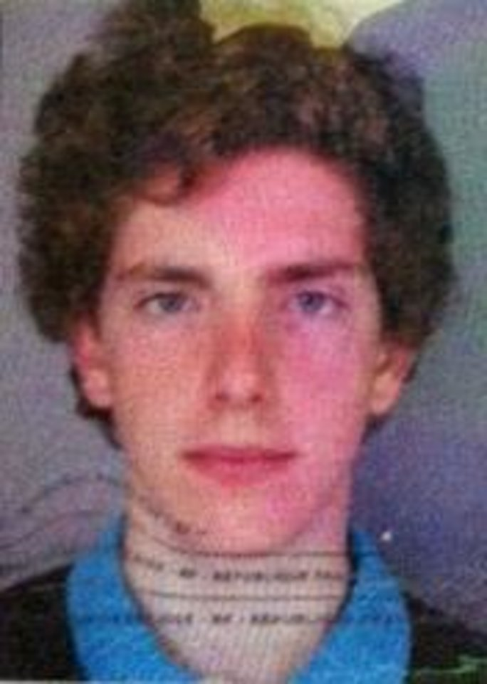 Photo -   This image provided by Chile's ONEMI or regional emergency office, shows the passport photo of Gillhem Bellon, 25, of France, one of three European tourists hiking around the Villarica volcano in Chile's central valley, who has not been heard from since Wednesday evening, Nov. 7, 2012 . Teams led by special police and the Andean Aid Team have been searching the area for Bellon, and fellow hikers, Dmitry Sivenkov, 32, of Russia; and Luca Ogliengo, 25, of Italy. (AP Photo/Chile's ONEMI)