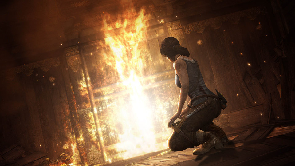 Photo - FILE - This publicity photo released by Crystal Dynamics/Square Enix shows a scene from the video game,