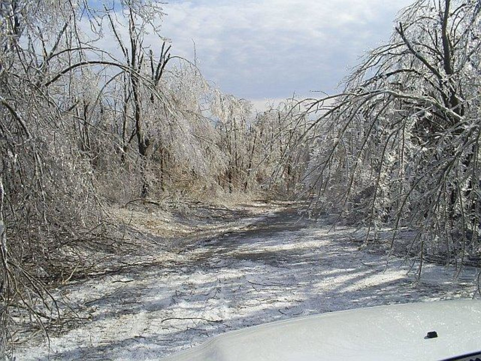 This is of my grandparent's, Kate & Darm Koehne, in Jay, OK.  This is the road leading to thier house.<br/><b>Community Photo By:</b> Lonnie Stover<br/><b>Submitted By:</b> Kelly, Midwest City