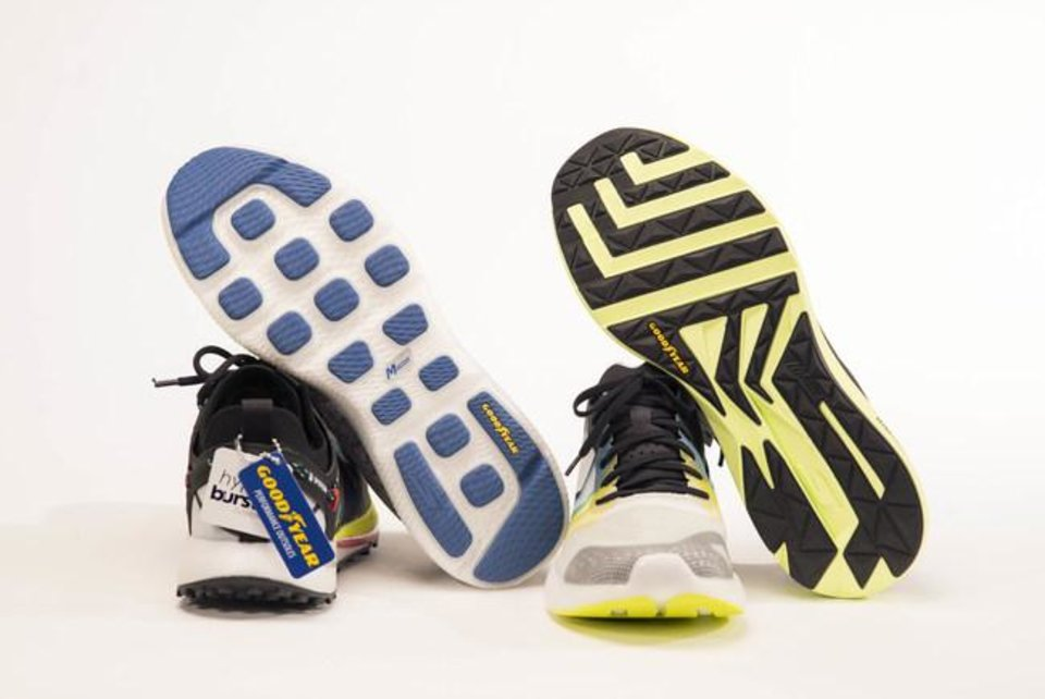 Photo - Skechers has partnered with Goodyear on a new line of shoes for men, women and children.