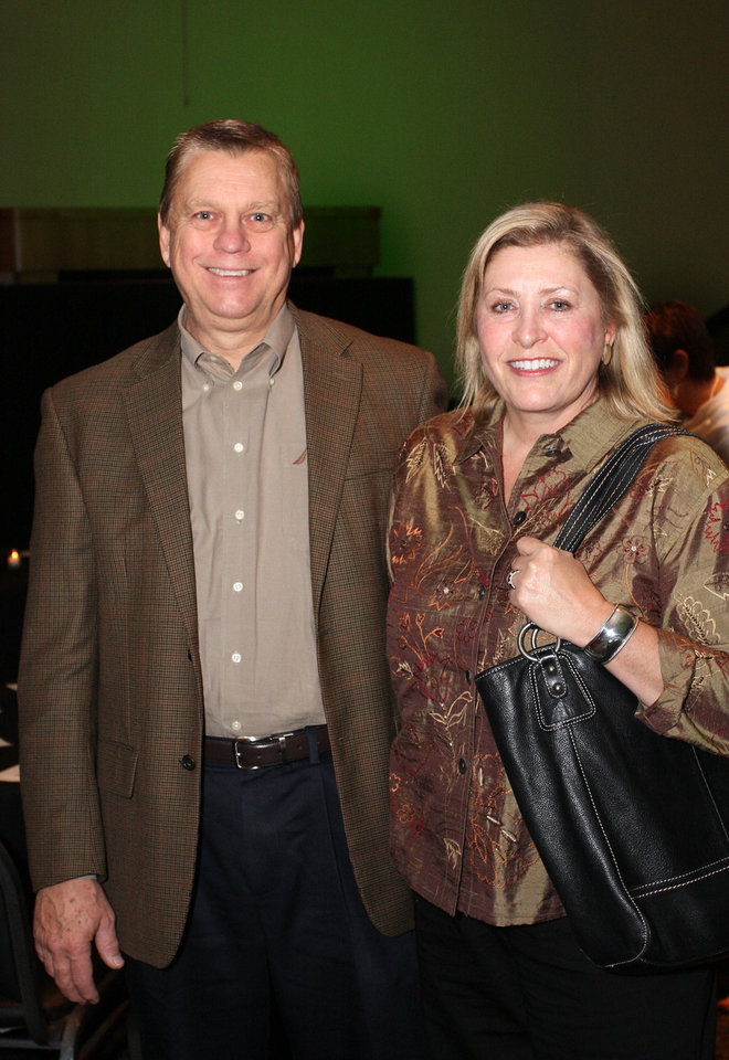 Steven and Julia Jech. PHOTO BY DAVID FAYTINGER, FOR THE OKLAHOMAN <strong></strong>