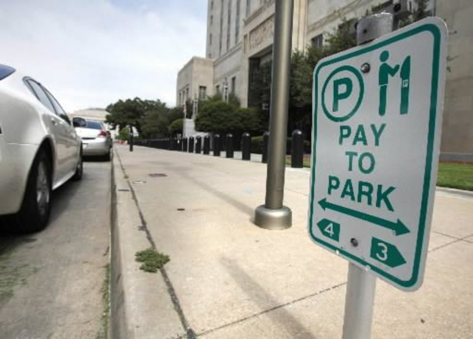 Oklahoma City will eventually replace all parking meters with pay stations in downtown Oklahoma City, OK, Friday, June 22, 2012, By Paul Hellstern, The Oklahoman