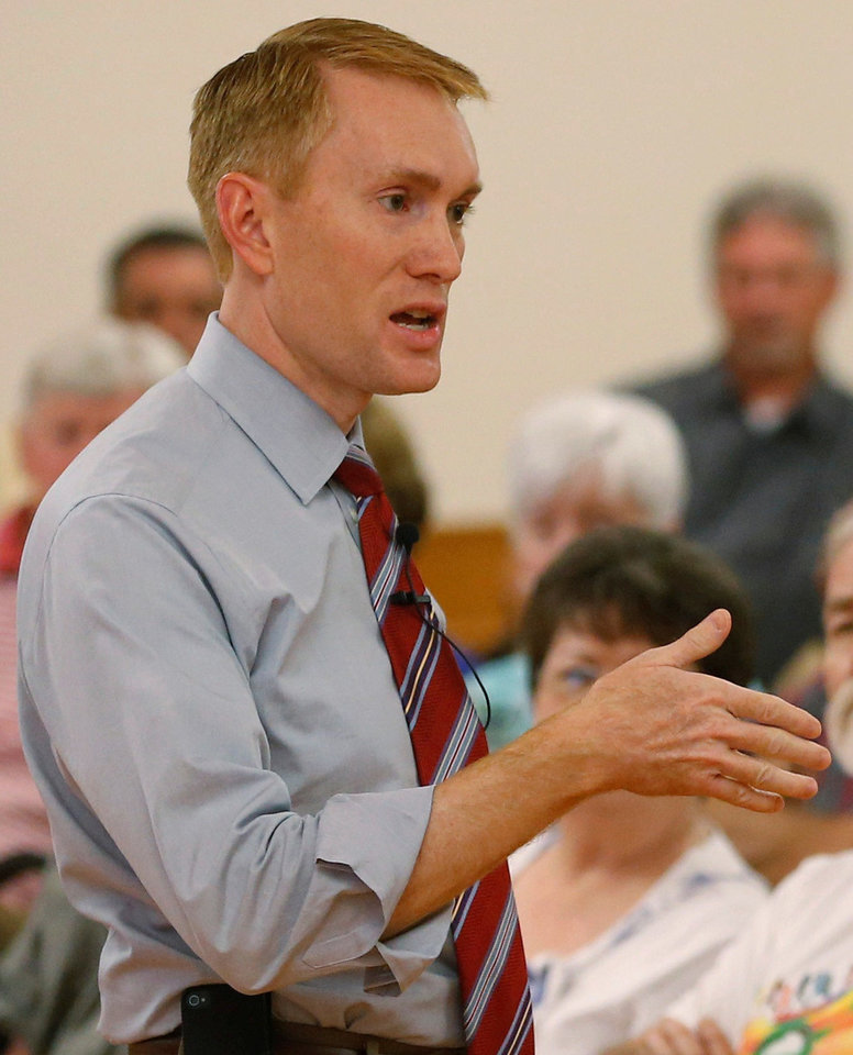 U.S. Rep. James Lankford, R-Oklahoma City <strong> - AP File Photo</strong>