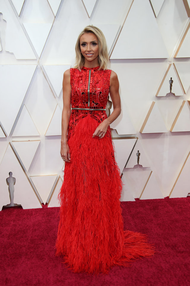 Photo - Feb 9, 2020; Los Angeles, CA, USA;  Giuliana Rancic   arrives at the 92nd Academy Awards at Dolby Theatre. Mandatory Credit: Dan MacMedan-USA TODAY