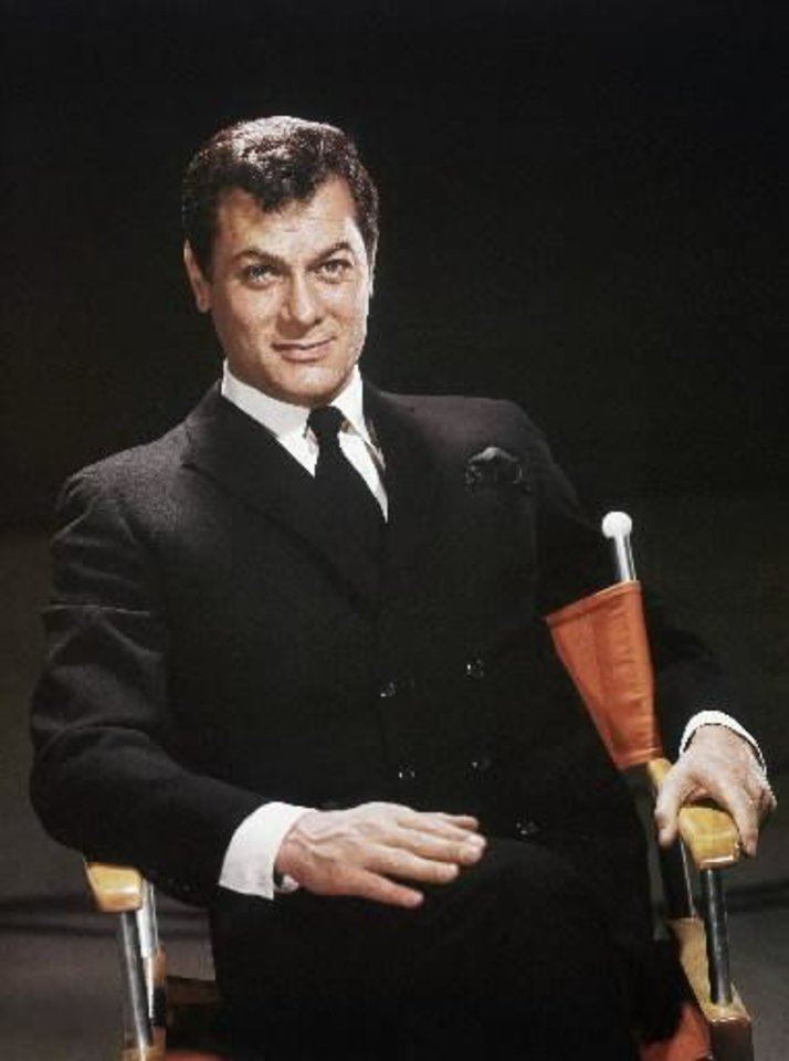 Photo -  Tony Curtis in 1965 (Associated Press file photos)