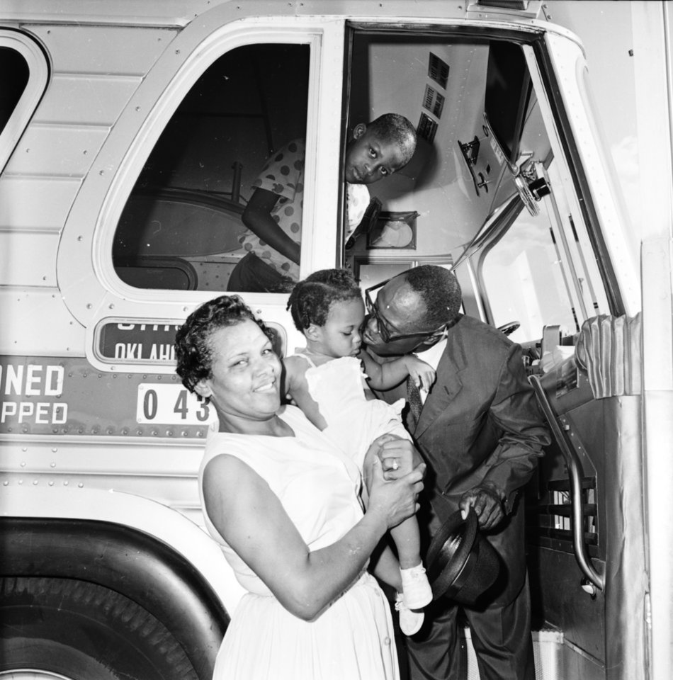 A moment in Oklahoma's black history. Photo provided by the Oklahoma History Center.