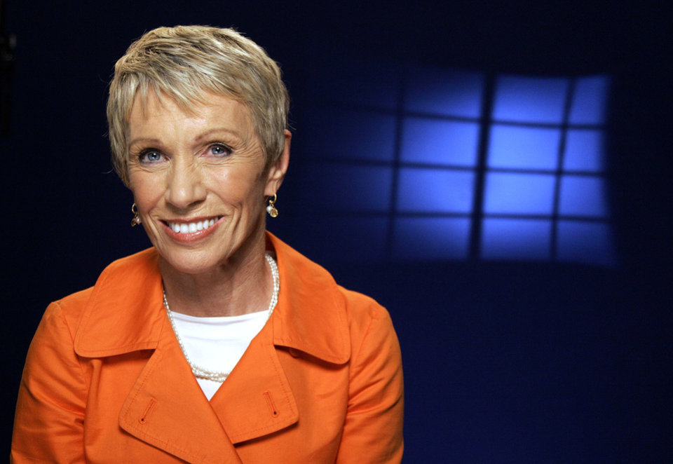 "Photo - FILE - In this Sept. 25, 2009 file photo, TV personality Barbara Corcoran poses for a portrait in New York. Corcoran, one of the investors on the ABC program ""Shark Tank,"" has years of experience running a successful New York real estate brokerage. Over the nearly 30 years she owned Corcoran Group, she took chances, made some mistakes and ended up selling it for $66 million. (AP Photo/Jeff Christensen, File)"
