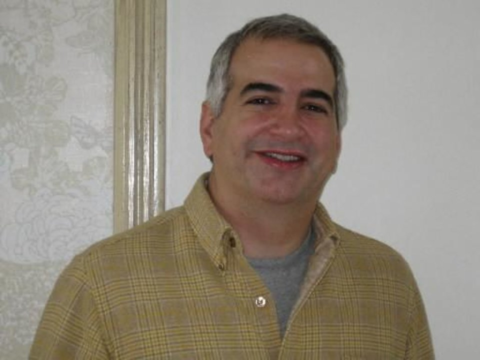 Photo - Anthony Shadid is seen in this file photo.
