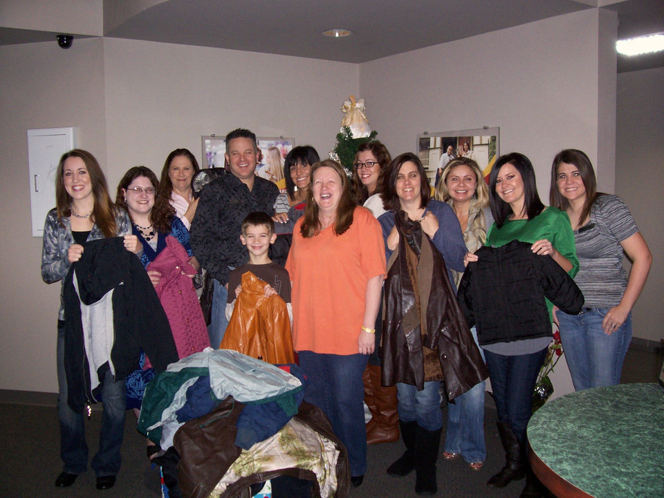 Warm Coats and Warms Hearts Coat Drive a Success!