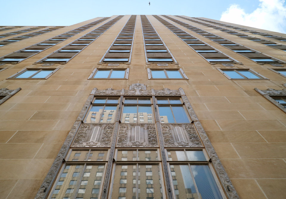 Photo -  A sale and proposed major renovation are still pending for the First National Center, an Art Deco jewel erected in 1931. The planned changes include a hotel, apartments and retail. [Photo by Doug Hoke, The Oklahoman]