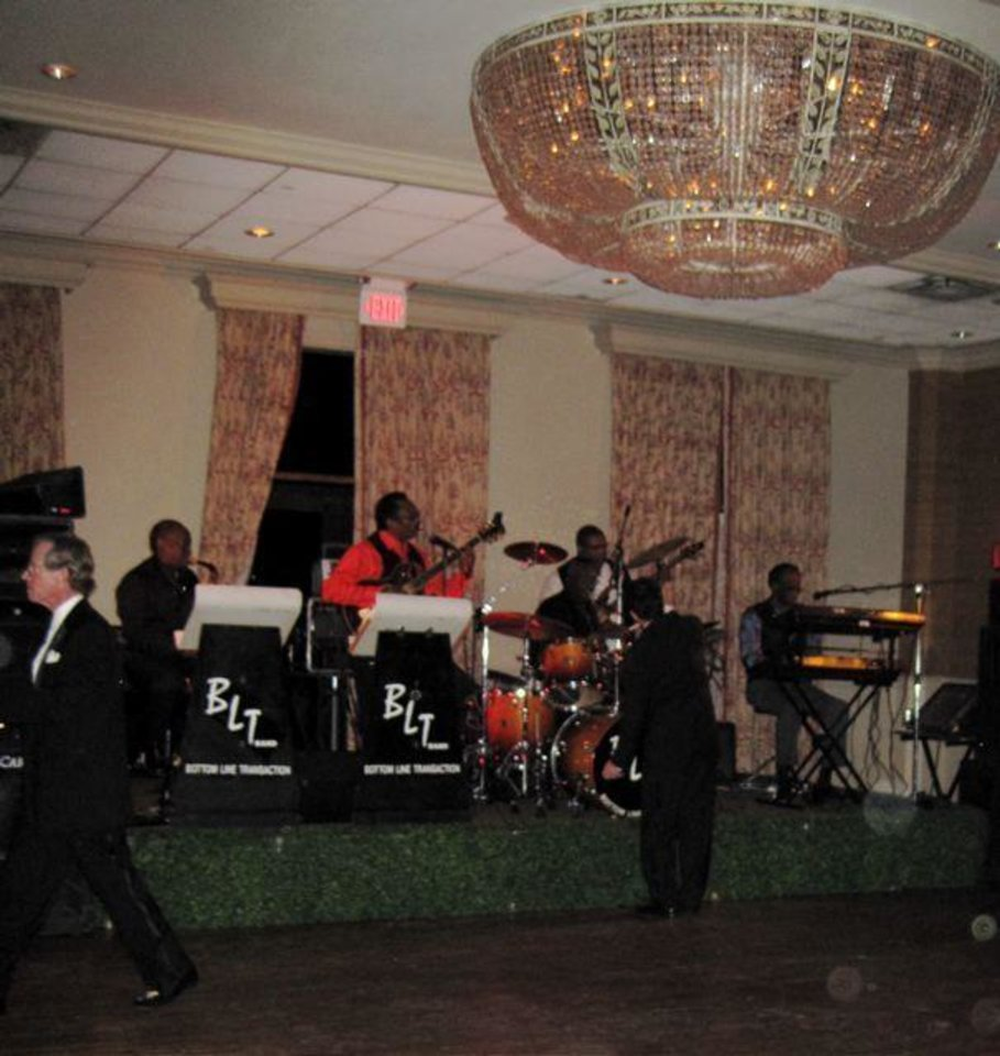 LOTUS CLUB DANCE....The band drew everyone to the dance floor. (Photo by Helen Ford Wallace).