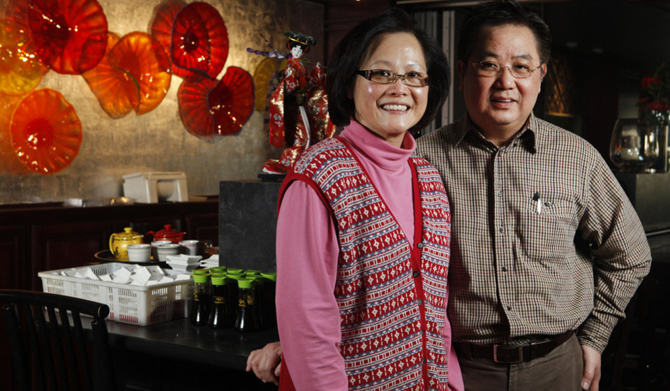 Photo - Grand House owners Kathy and Thai Tien will open for dim sum on Christmas. Oklahoman Archive photo  Jaconna Aguirre - The Oklahoman
