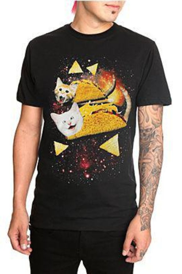 Cats with Tacos T-shirt from Hot Topic Photo provided <strong></strong>