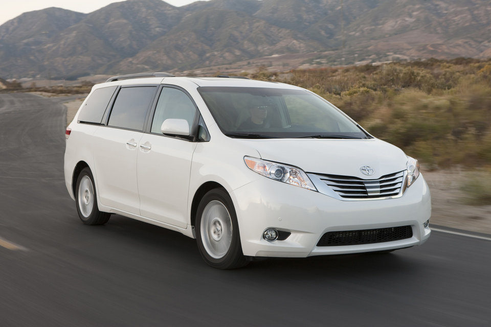 Photo - This undated image made available by Toyota shows the 2011-2014 Toyota Sienna Limited. (AP Photo/Toyota, David Dewhurst)