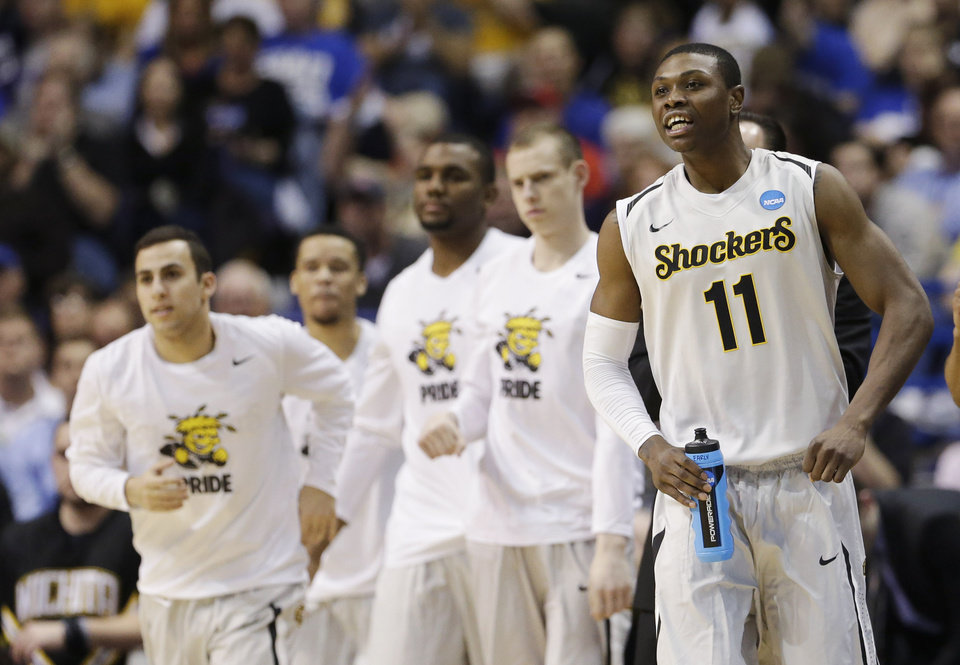 Photo -  A home-and-home with Creighton is nice, but why not Wichita State? (AP Photo/Charlie Riedel)