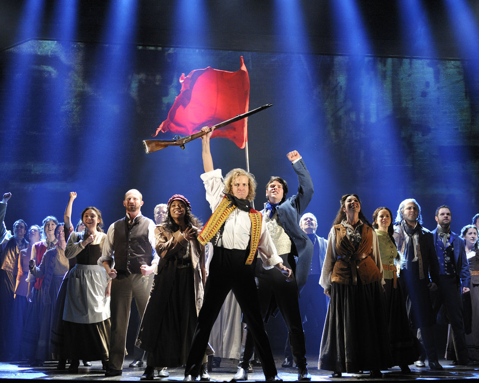"The company of ""Les Miserables""   Photo by Deen van Meer <strong>Deen van Meer</strong>"