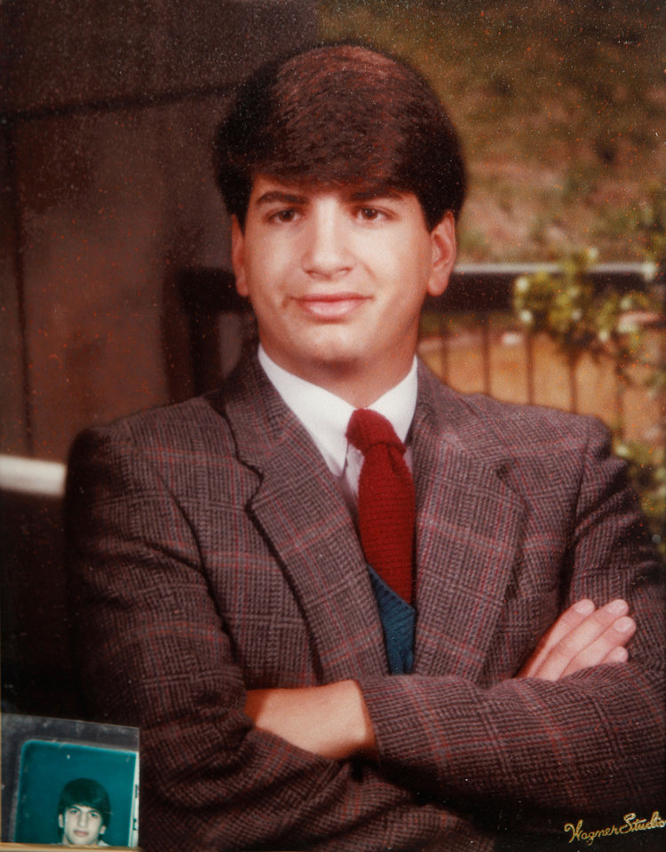 Photo - DEATH: A family photo of Anthony Shadid when he was in college. Shadid,  a foreign correspondent  for the New York Times, who died after suffering a severe asthma attack in Syria on Feb. 16.  Photo by Jim Beckel, The Oklahoman