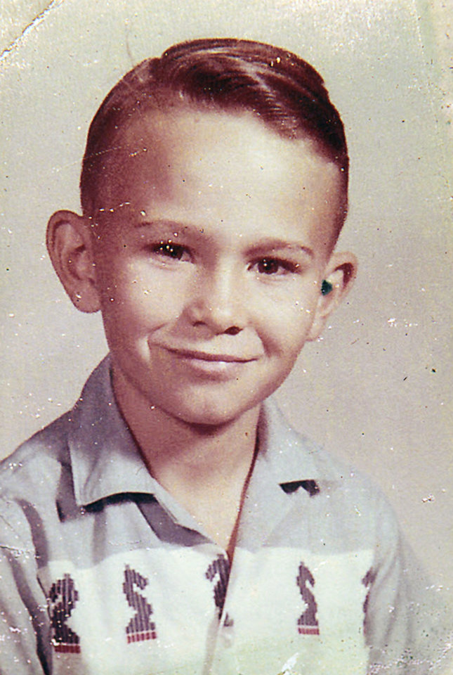 Photo -  A childhood photo of Jimmy Williams. Williams, at 16, went missing from Sayre with two teenage friends.  David McDaniel - The Oklahoman