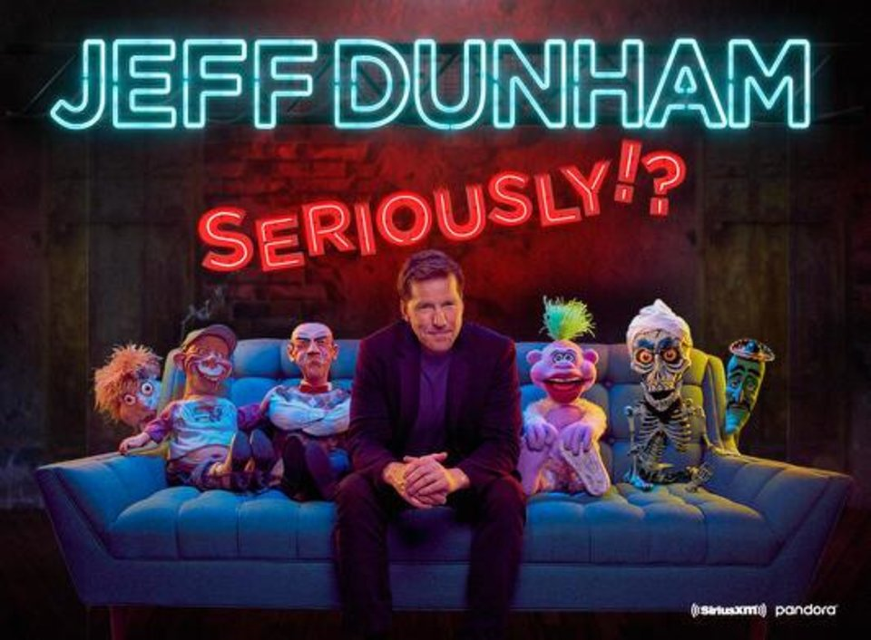 Photo - Superstar ventriloquist and stand-up comic Jeff Dunham has again postponed his planned Oklahoma City show due to the coronavirus pandemic. [Poster image provided]