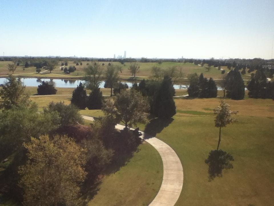 Beautiful day in OKC.