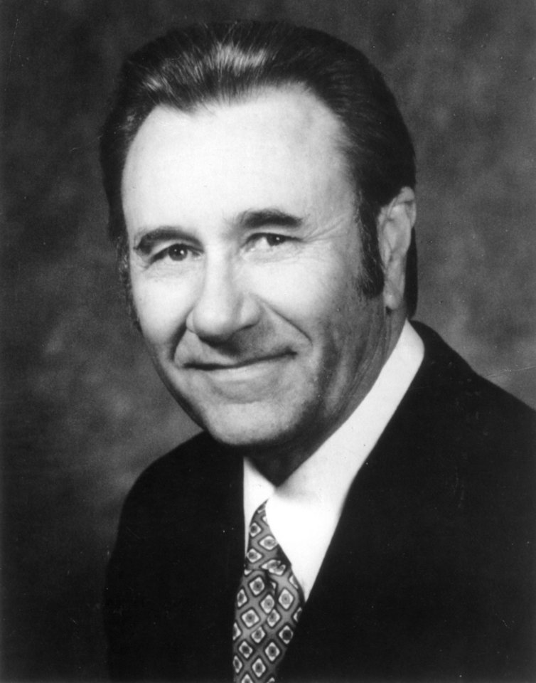 Evangelist Oral Roberts. Stock portrait of Oral Roberts used with a Forum Page letter response by Dr. Roberts in the 3/24/78 Oklahoma City Times.  Photo also ran in the 3/5/78 Daily Oklahoman.