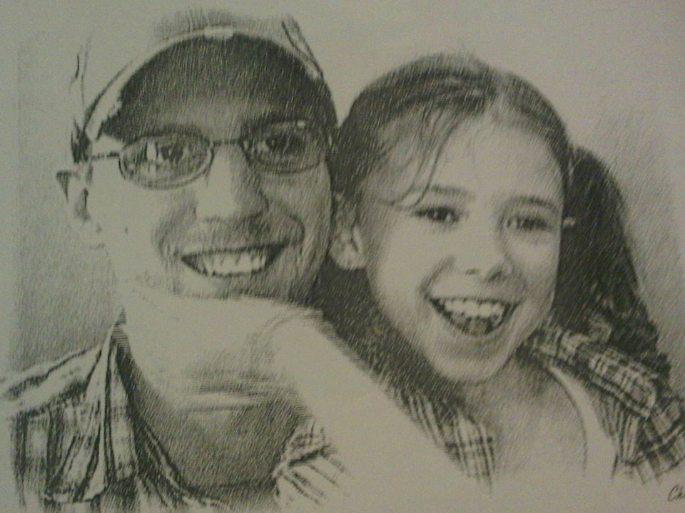 Photo - Destiny Brown-Jones and father Steven Crane.     PROVIDED