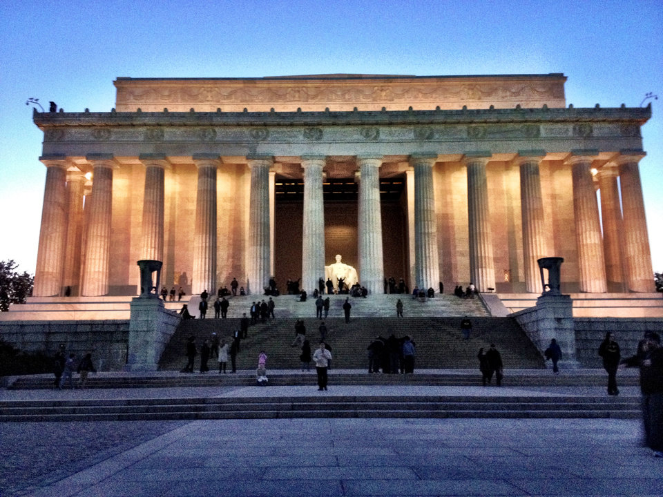 Lincoln Memorial #DC @jayspear