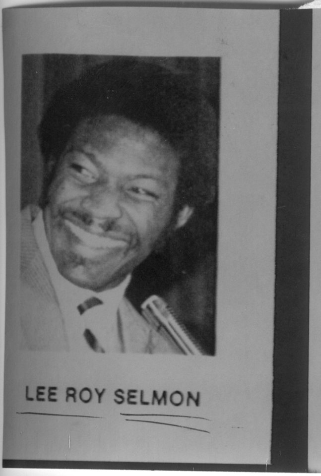 Lee Roy Selmon, OU football player. 12-21-1981