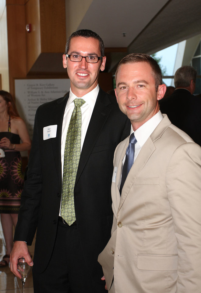 Kent Gardner, Joshua Fahrenbruck. Photo by David Faytinger   <strong></strong>