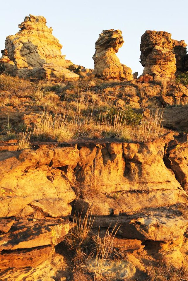 Photo - The Black Mesa State Park near Kenton in the Panhandle . PHOTO PROVIDED.
