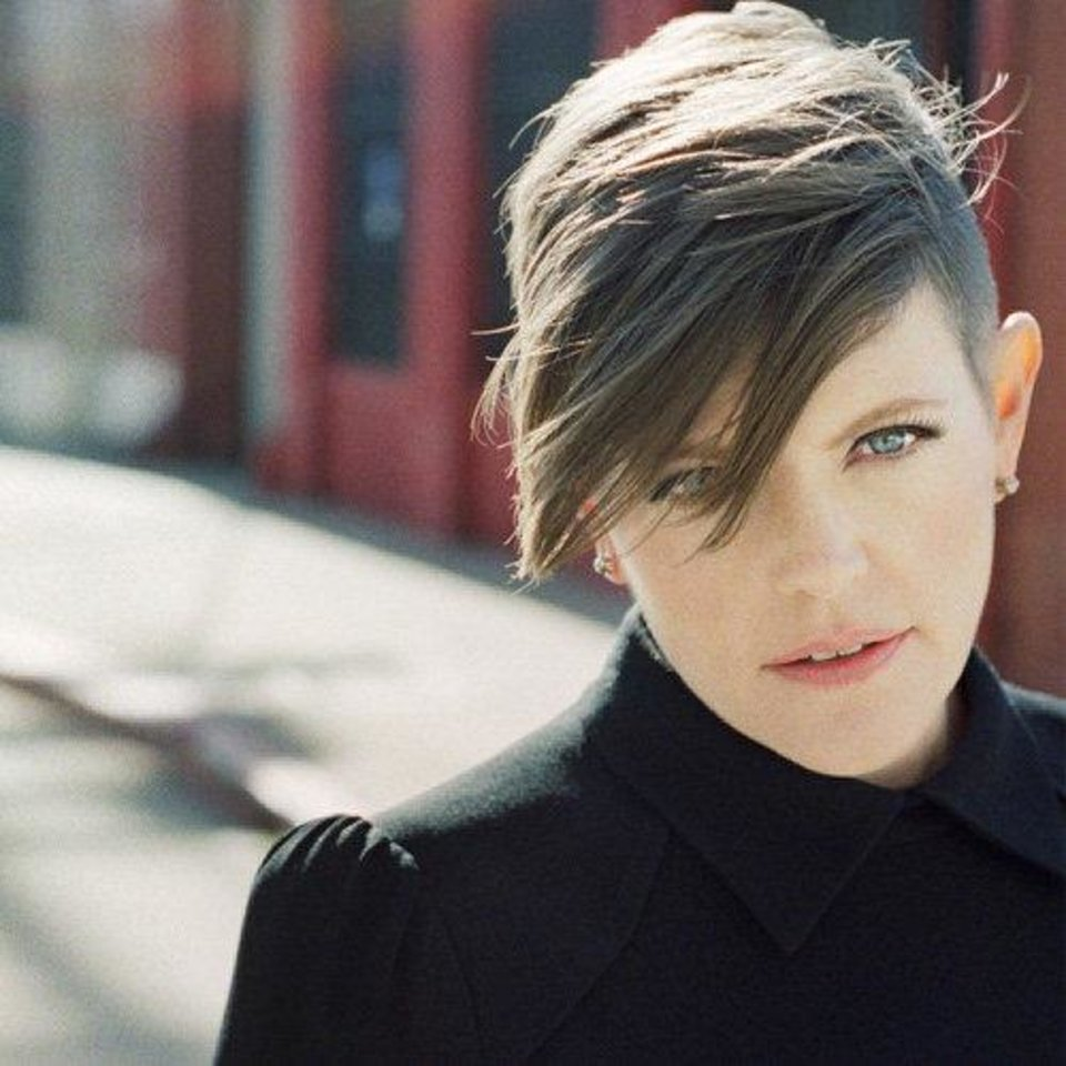 Photo - Singer Natalie Maines has a version of a rave shave, with long choppy bangs. Photo provided.