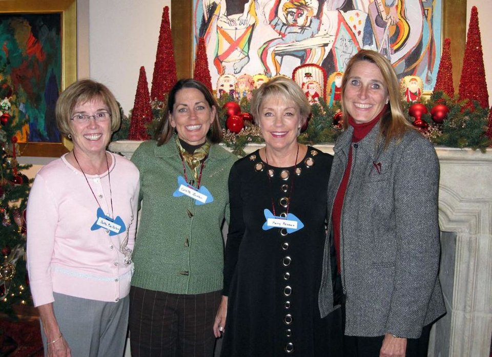 Bette MacKellar, Colette Buxton, Mary Reneau, Vicki Kembel. - Photo Provided
