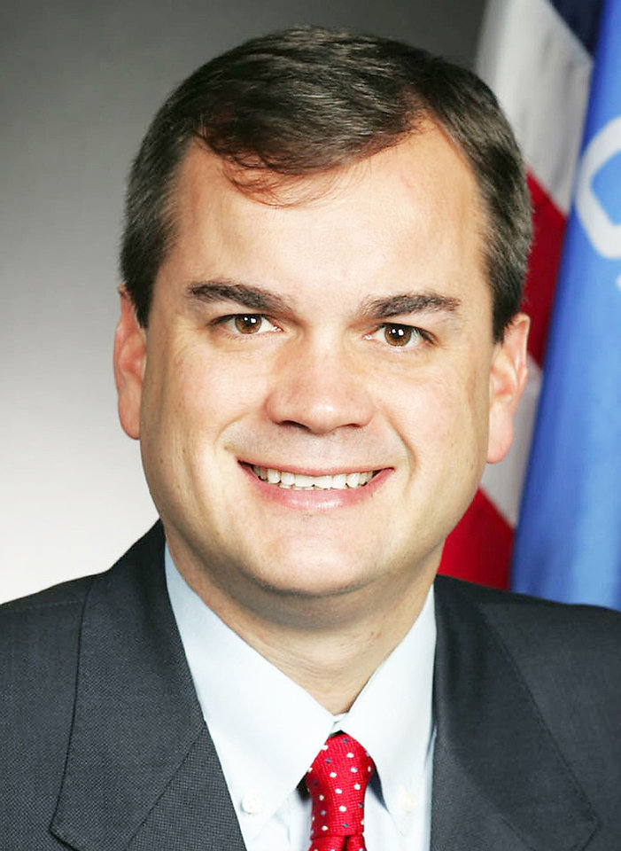 Photo - Sean Burrage, D-Claremore is minority leader in the Oklahoma Senate      ORG XMIT: 1112162058222223