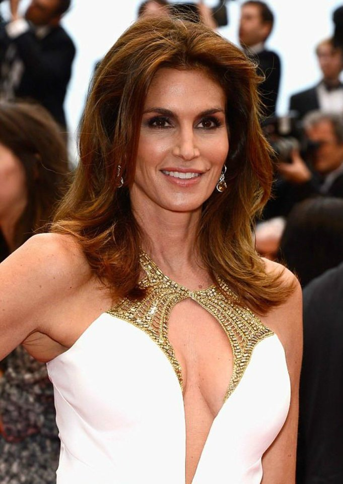 "Photo -  Cindy Crawford at the screening of ""The Great Gatsby"" at Cannes Film Festival in France."