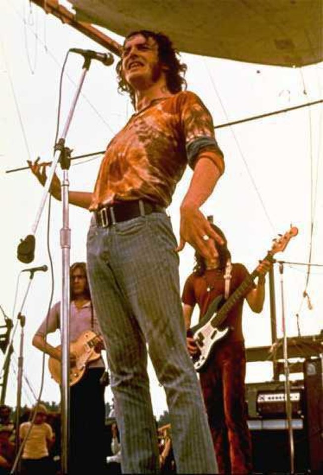 Photo - Joe Cocker at Woodstock, 1969. AP PHOTO