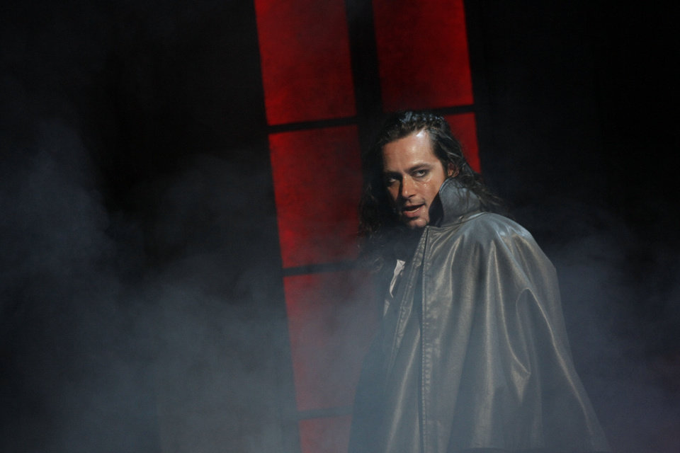 Photo - Constantine Maroulis as Edward Hyde   Photo by Chris Bennion  Photo by Chris Bennion