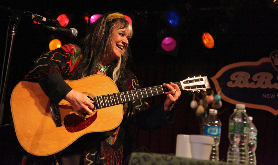 Photo - Singer-songwriter Melanie will play Saturday at the Woody Guthrie Folk Festival in Okemah. Photo by Maddy Miller.