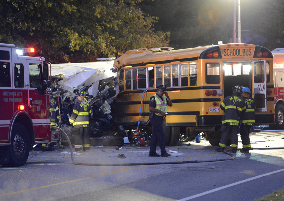 Report bus driver may 39 ve lost consciousness in other for Maryland motor vehicle administration