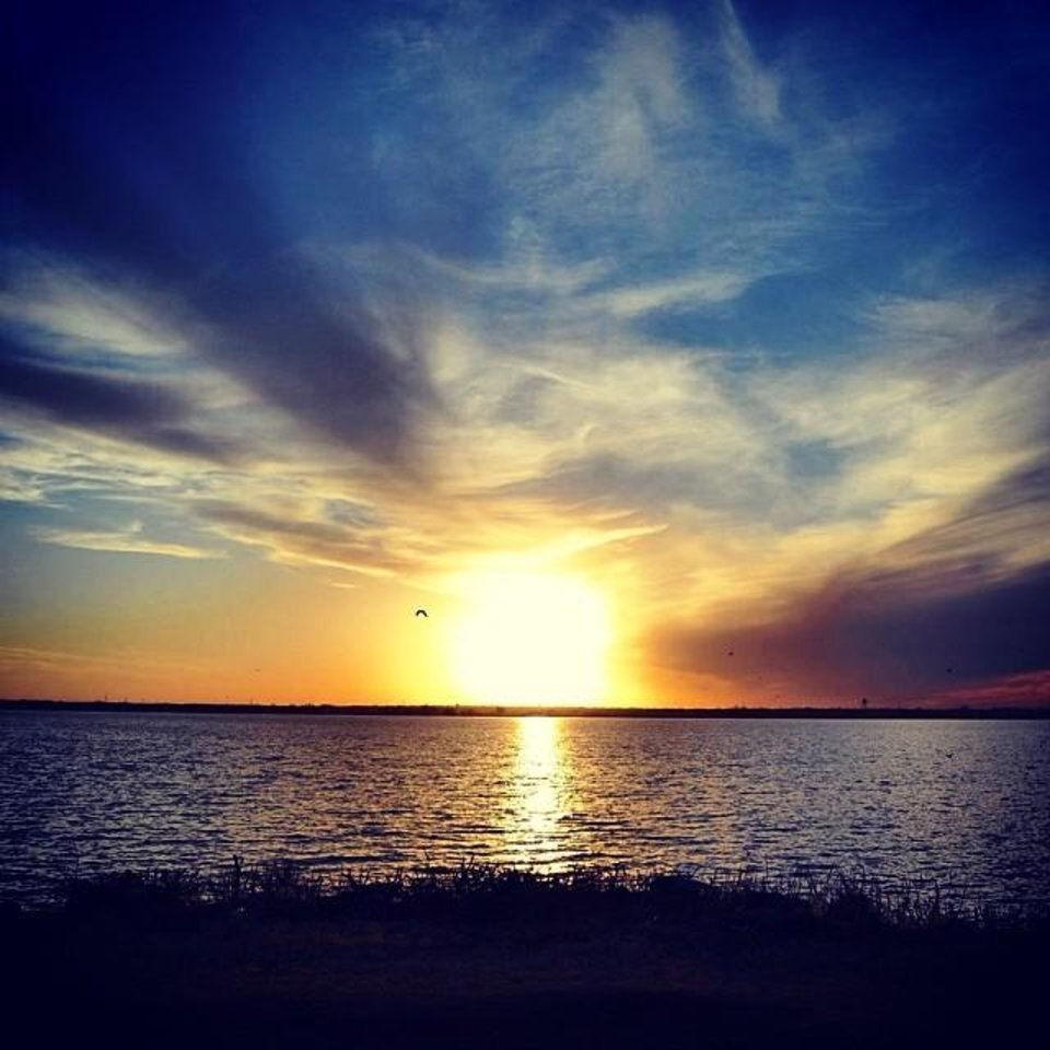 Lake Overholser - Photo by Instagrammer @dusty1368