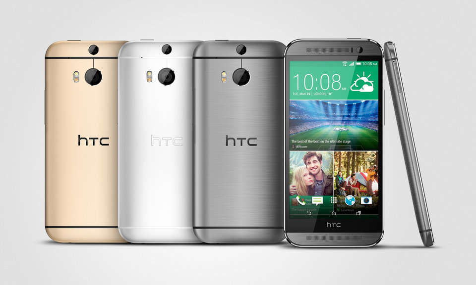 Photo -  If you've been on the fence about what new smartphone you should buy, then be thankful for HTC, because they just made your decision a lot easier: Buy the HTC One M8. AP File Photo